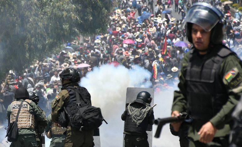 Bolivia acusa a Cuba y a Venezuela de estar detrás de la violencia