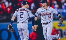 Astros reaccionan y obtienen su primer triunfo en la Serie Mundial