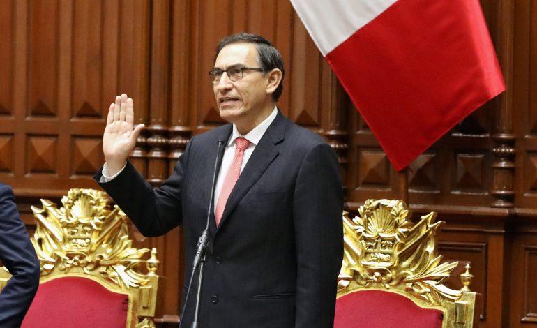 Vizcarra promulgó decreto para celebrar elecciones parlamentarias en enero de 2020
