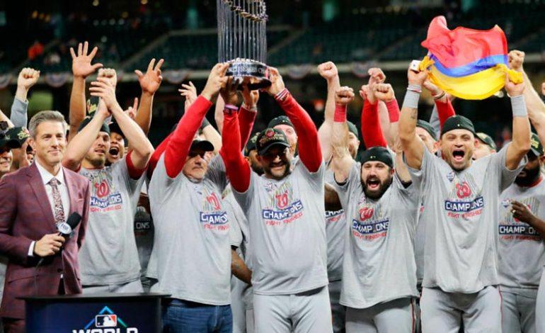 Los Nacionales de Washington conquistaron la Serie Mundial, tras derrotar a los Astros de Houston