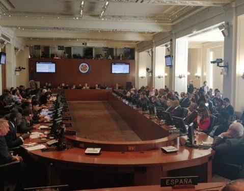 OEA rechazó acciones desestabilizadoras en Ecuador y el resto de la región