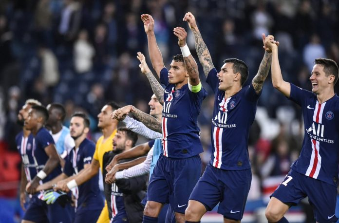 El PSG se sube a la punta de la Ligue 1 tras golear al Angers