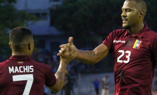 Rondón y Machís brindan la victoria a Venezuela contra Trinidad y Tobago
