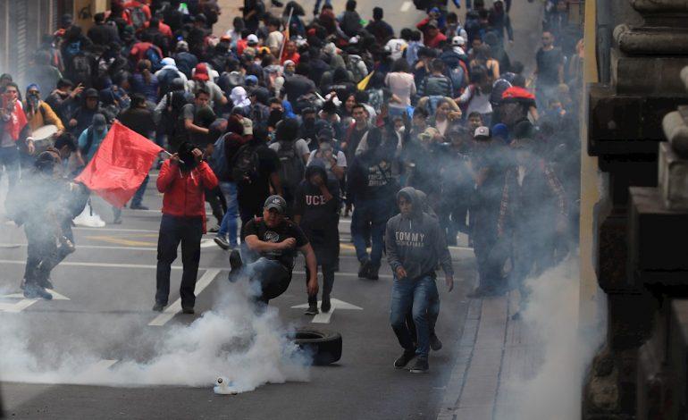 Protestas en Ecuador han dejado cinco muertos, 554 heridos y más de mil detenidos