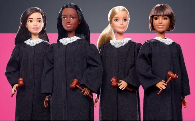 Mattel lanzó la Barbie jueza
