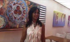 Silvia Parra Artista Visual, Colorea la Hispanic Heritage Expo 2019 en la Universidad Ana G Mendez