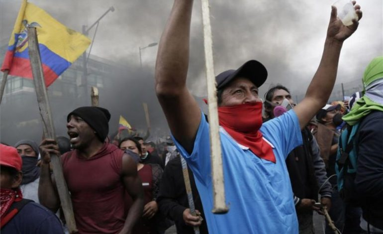 Alrededor de 50$ recibieron extranjeros para protestar en Ecuador