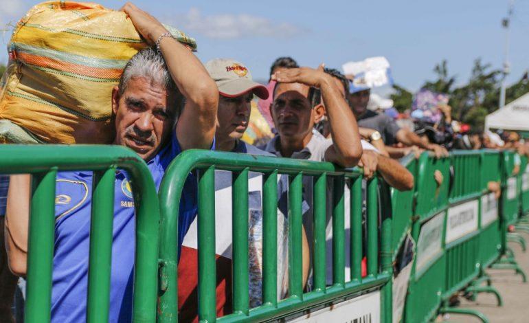 Colombia cerró pasos fronterizos por jornada de protestas