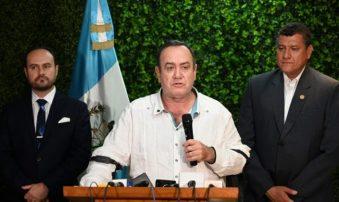 Giammattei reiteró su disposición de trabajar por la restauración de la democracia en Venezuela