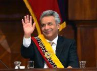 Moreno acusa a Maduro de financiar las manifestaciones violentas en Ecuador