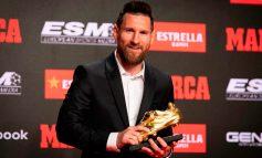 Messi recibió su sexta Bota de Oro