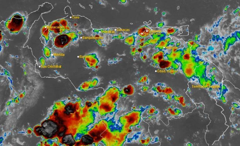 Onda tropical causará fuertes precipitaciones en Venezuela