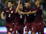 Venezuela bajó tres escalones en el ranking Fifa