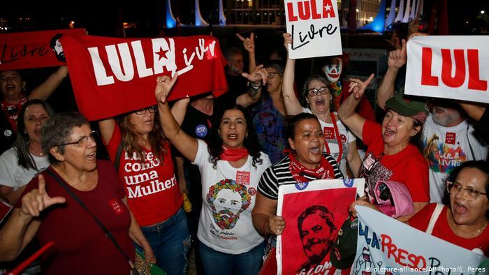 Justicia decreta libertad de Lula tras el fallo del Tribunal Supremo