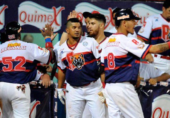 Tigres de Aragua rugió más fuerte en el Universitario y derrotó a Leones del Caracas