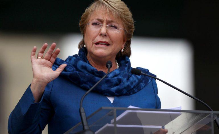 Bachelet: Cambio climático es la mayor amenaza a los DDHH