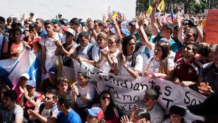 Movimiento estudiantil busca mantenerse en la lucha por Venezuela