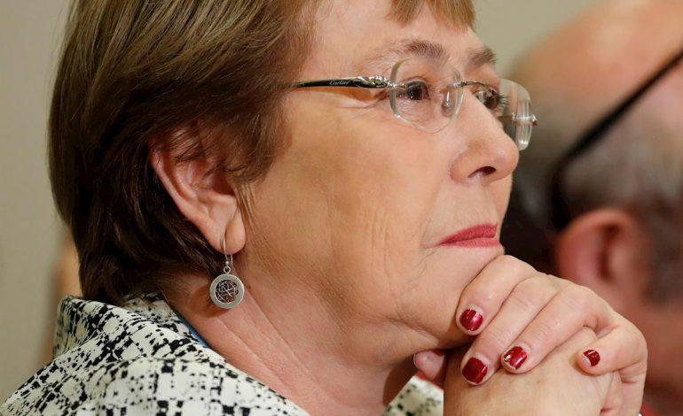 Guaidó le dio sus condolencias a Bachelet por la muerte de su madre