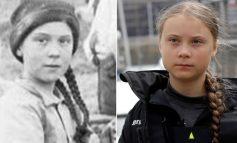 Revelan foto de una doble de Greta Thunberg del siglo XIX
