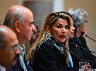 Presidenta interina de Bolivia no será candidata en las próximas elecciones