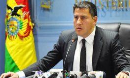 Ministro de Defensa boliviano renunció a su cargo