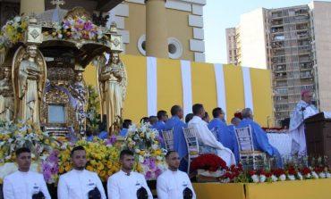 """Arzobispo Parra pidió a la Chinita, que """"no nos abandones en estos momentos difíciles que vivimos"""""""