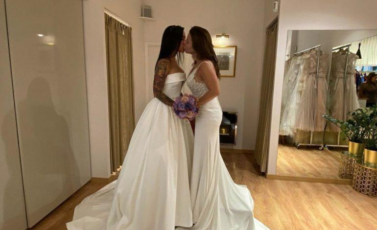 Vanessa Senior se casó con su pareja Nany Luna