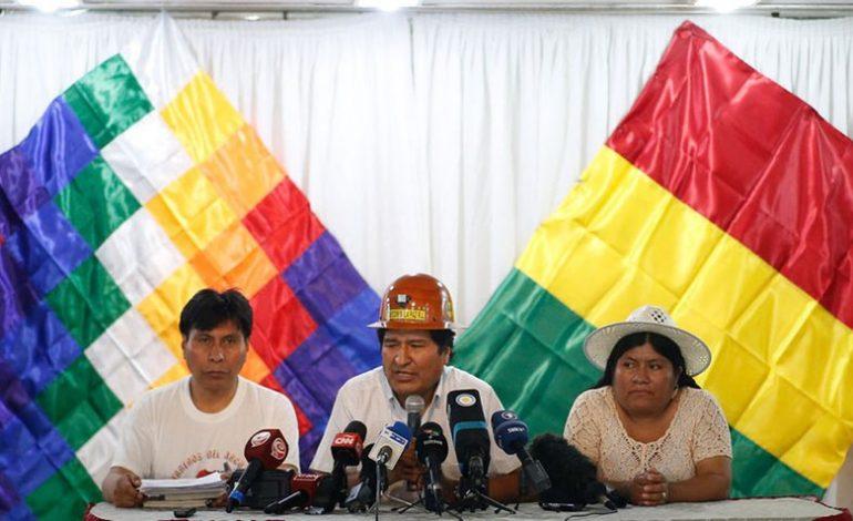 Evo Morales definirá el 19 de enero a sus candidatos electorales