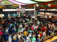 Celebrada con éxito la octava Feria de la Chinita en Roma