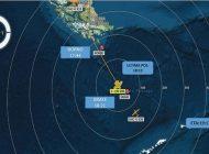 Hallan restos humanos donde se perdió avión militar de Chile