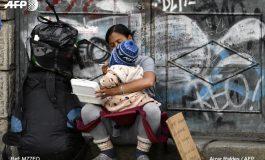 Venezolanos mendigan en Bolivia, uno de los países más pobres de Sudamérica