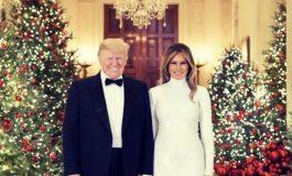 """Los Trump desean """"feliz Navidad"""" a todos"""