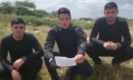 Tres militares sublevados al régimen se adjudican robo de armas en fuerte venezolano