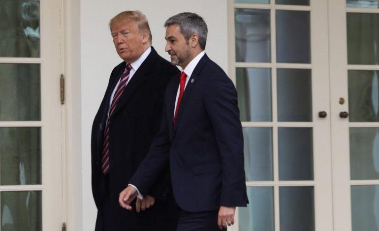 Presidente paraguayo es recibido por Trump  en la Casa Blanca