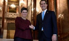 Canciller española recibió a Juan Guaidó