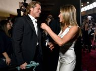 Brad Pitt y Jennifer Aniston se volvieron a encontrar en los premios SAG Awards