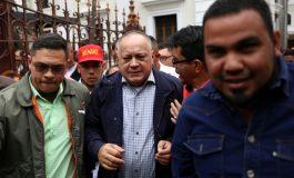 Cabello: a Guaidó tarde o temprano le caerá el peso de la ley