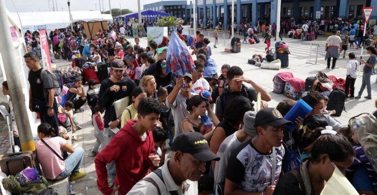 Más de siete mil venezolanos pidieron refugio en México durante el 2019