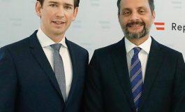 Embajador de Venezuela por Guaidó asistió a la toma de posesión del Canciller de Austria