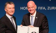 Mauricio Macri fue elegido presidente de la Fundación FIFA