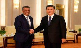 Jefe de OMS y Xi Jinping debaten lucha contra coronavirus