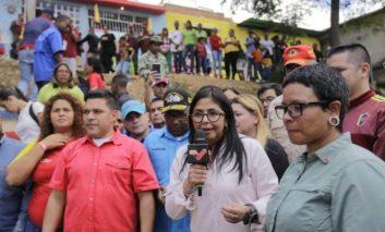 Delcy Rodríguez a Trump: No se deje engañar por la pandilla que coordina Guaidó