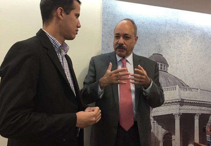 Juan Guaidó sostuvo reunión en España con Carlos Tablante