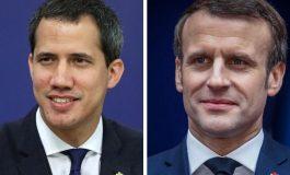 Guaidó se reunirá con Macron este viernes en el Palacio del Elíseo