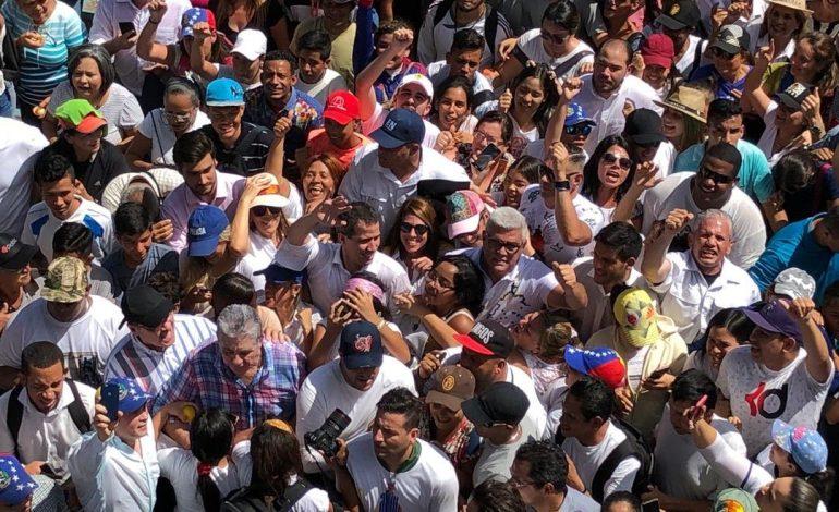 Guaidó pidió a la Divina Pastora que guíe a Venezuela hacia la libertad