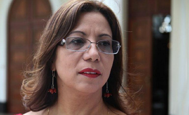 Tania Díaz: un sector de la oposición desplazó a otro en el Parlamento