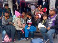 Más de 2 mil hondureños ingresan a Guatemala en caravana migrante