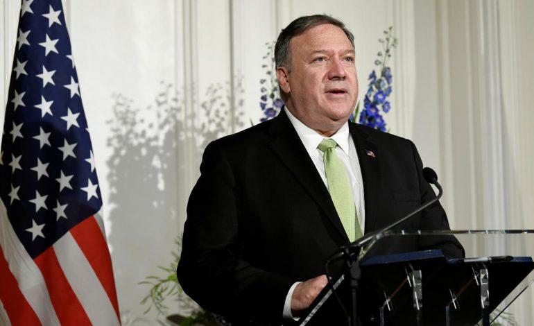 Pompeo: Irán entregará armas al madurismo si la ONU no le prorroga el embargo