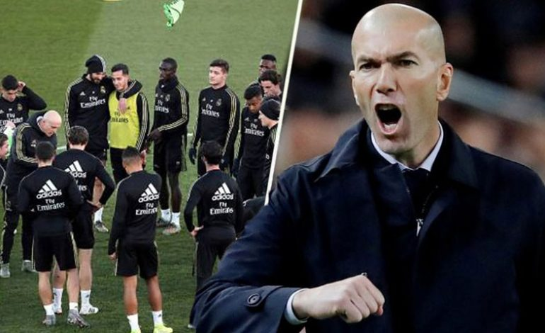 Zidane: Vamos a intentar mejorar en 2020