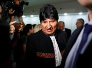 Evo Morales sale de Argentina rumbo a Venezuela